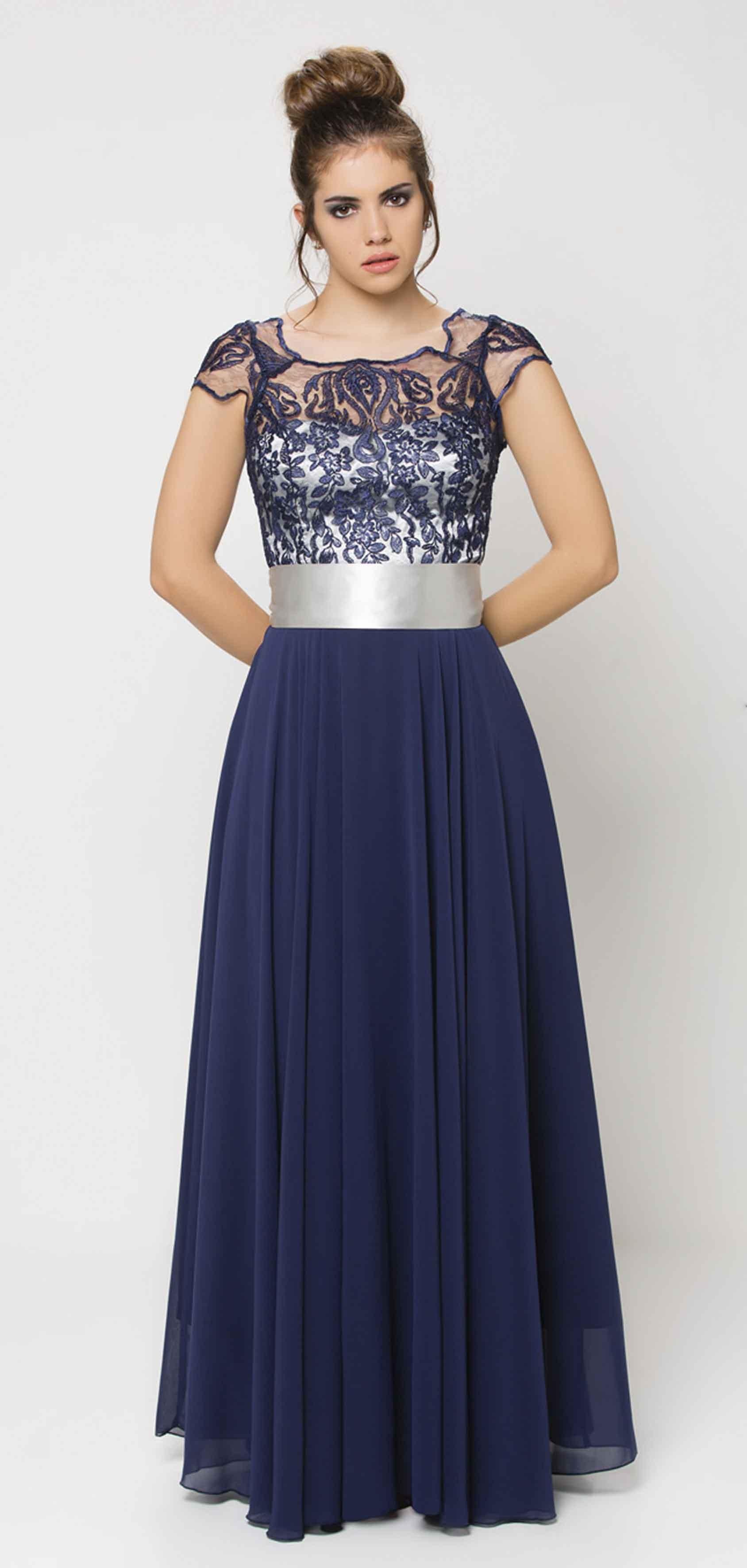Color de uрів±as para vestido azul marino